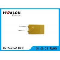 Quality Thermal PPTC Resettable Fuse Thermistor 0.1-30A Yellow Radial Lead Type For Phones for sale