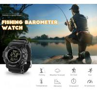 Quality Fishing Watch Barometer Waterproof 3ATM Thermometer Altimeter men Military sports Wristwatches LCD Digital sport Watches for sale