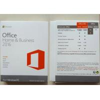 Buy cheap PKC 1 Mac Software Key Code , Microsoft Office Home / Business 2016 from wholesalers