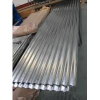 Best max 11800mm length Pre painted galvalume gi corrugated steel sheets for roof / wall wholesale