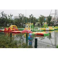 Quality Inflatable Commercial Floating Water Park For Adult for sale