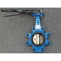 Quality PN10 PN16 Lever operated Butterfly Valve , 6 Inch 8 Inch pneumatic actuator valves for sale
