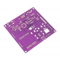 Quality 1.6mm 2OZ Automotive PCB TS16949 Certified Purple Solder Mask Pcb ENIG Surface Finish for sale