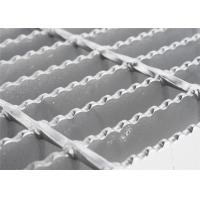 Quality Round Bar Custom Stainless Steel Grill Grates ,Anti Rust Open Mesh Flooring for sale