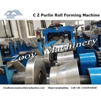 Quality Cutter Custom Roll Forming Machine High Speed With Hydraulic Cutting for sale