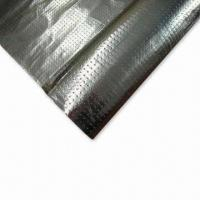 Quality Perforated-radiant Barrier, Made of Aluminum Foil Coated Woven Fabric, Used for Roof/Wall Insulation for sale