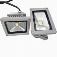 Quality Energy efficient Warm White IP65 10 - 80W indoor flood light bulb for landscaping building for sale