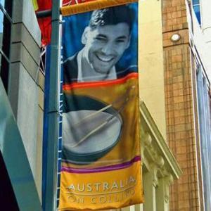 1440dpi Street Flag/Advertising Flag Banner/Shop Banner, Heat Transfer and Digital Printing