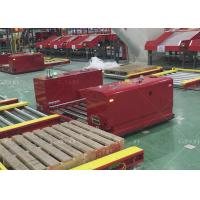 Buy cheap Unmanned Non Standard Heavy Duty AGV Auto Guided Vehicle Roller Conveyor Type from wholesalers
