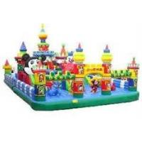 Quality Heavy duty outdoor commercial water park inflatable fun city for amusement park for sale