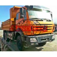 Quality Utility 3 Axle Dump Truck , 25 Ton Dump TruckWith Left / Hand Driving Steering for sale