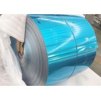 Quality Refrigerator Blue Color Coated Aluminum Coil Roll Standard Export Packaging for sale