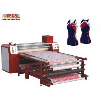 China 1.0m Wide Roller Style Textile Calender Machine Sublimation Printing Heat Press Machine on sale