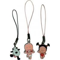 Best Disney mobile phone ornaments, cell phone ornaments small broken child, metal mobile phone ornaments wholesale
