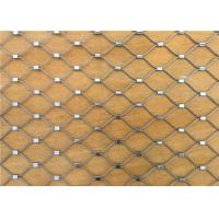 China Professional Custom Zoo Wire Mesh Ferrule Type Animal Enclosure Mesh on sale