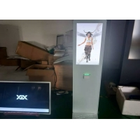 Quality white touch screen directory kiosk with printer 32 inch 42 inch touch screen kiosk for sale