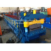 Buy cheap Strength And Durability Roofing Sheet Roll Forming Machine Hydraulic Cutting from wholesalers