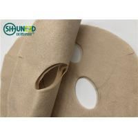 Buy Natural Plant Biodegradable Spunlace Non Woven Fabric For Face Mask Plain Structure at wholesale prices