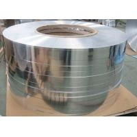 Quality Thickness 0.05 - 0.6mm Hot Rolling Aluminium Strip / Tape For Cable Transformer for sale