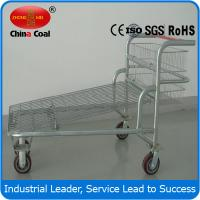 Quality RH-LH Warehouse cargo flat metal logistic trolley for sale