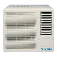 Buy 12000btu R32 window air conditioner remote control cool and heat support at wholesale prices