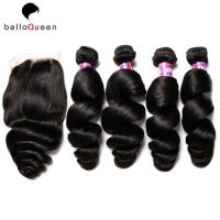 7a Burmese Loose Wave Real Human Hair Extensions 10 Inch - 30 Inch