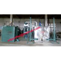 Quality Black car engine oil recycling system, black motor oil refinery vacuum distillation Purifier Machine for sale