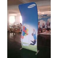 Quality 4*8FT Cobra Tension Fabric Banner Aluminum Stand + Graphic Printing for sale