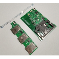 Quality 300mA Sd Card Reader Module 424Kbps Linux Android OS Support (optional) for sale
