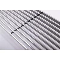 Quality Lightweight Silver White Polished Aluminium Profile For Door And Window for sale