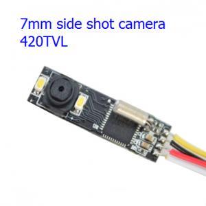 """Quality Super mini IR camera module for endoscope, side shot, 7mm wide, 1/5"""" CMOS, Auto AWB, 420TVL, DC3.5V~6V for sale"""