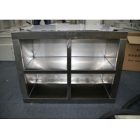 Quality 304 Stainless Steel Clean Room Equipment 1.2mm Shoes Ark Garments Store for sale