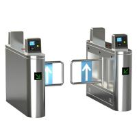 Quality 304 Stainless Steel Swing Barrier Gate Electronic Security Entrance Sliding Turnstile for sale