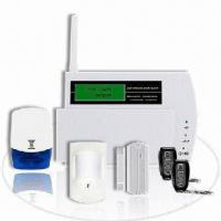 Quality Wireless GSM Alarm System with Four GSM Bands and Listening-in Function for sale