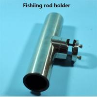 China AISI 316 stainless steel for 1-1/4'' tube fishing rod holder on sale