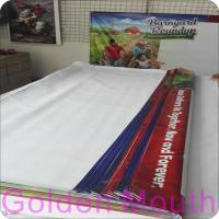 Quality 13 oz Vinyl Banners with Hem and Grommets for sale