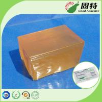 Buy cheap Express Bill Sealing Hot Melt Glue Adhesive Packaging Yellow color and semi from wholesalers