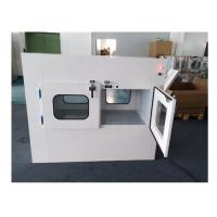 Quality Customizable Double Swing Door Air Shower Pass Box With 1 Year Warranty for sale