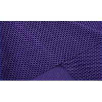 Absorb Sweat Nylon Mesh Fabric , Weft Knitted Fabric Anti Wrinkle For Exercising