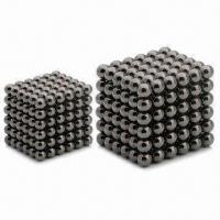 Quality Magnetic Balls, Made of NdFeB, Available in Various Shapes for sale