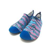 Quality Athletic Wet Beach And Swim Shoes Walking Swimming Pool Footwear Heat Transfer Print for sale