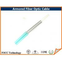 Best Indoor Outdoor Fiber Optic Armored Cable Network With Flexible Metal Tube wholesale