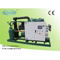 Quality Food Low Temperature Chiller , Cold Room Storage Water Cooled Condensing Unit for sale