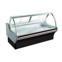 China Commercial Deli Meat Curved Display Cabinet as Butcher Display Freezer Equipment on sale