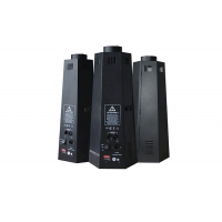 Quality Aluminum Housing 200W DMX Flame Projector Six Corner Stage Effect Machine for sale