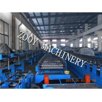 Quality Panasonic PLC Control Corrugated Roof Forming Machine For Light Steel Construction for sale