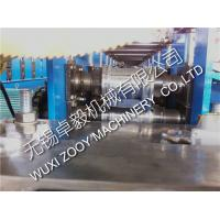 Quality galvanized steel Shutter Door Roll Forming Machine with Panasonic / Simens PLC control system for sale