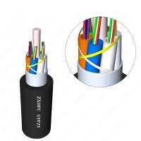 Buy cheap LSZH 144core Flame Retardant Cable GYFZY Aerial Non Metal from wholesalers