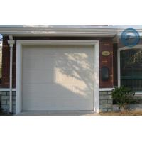 Quality Electric Automatic Overhead Garage Doors White Wood Grain For Villa for sale