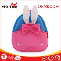 Quality Pink Neoprene Toddler Backpack With Pretty Bowknot / Grab Handle for sale